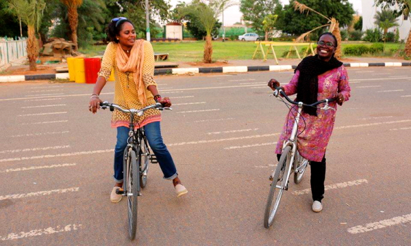 ⓒ Sudanese female cyclists initiative